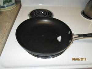 Coconut Oil in the Pan