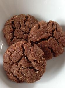 Healthy-ish chocolate cookies