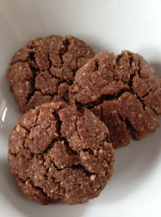 Healthy-ish chocolate cookies