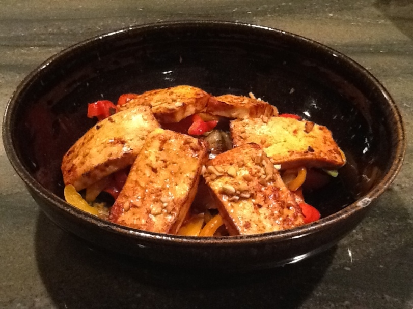 Spicy Asian Tofu