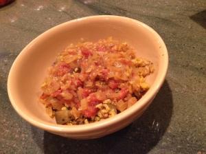 Biriani with Curry Sauce