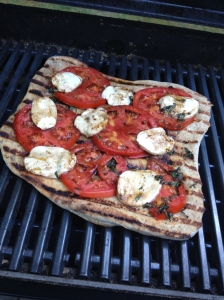 Tomato Salad Pizza