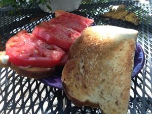 classic tomato sandwich